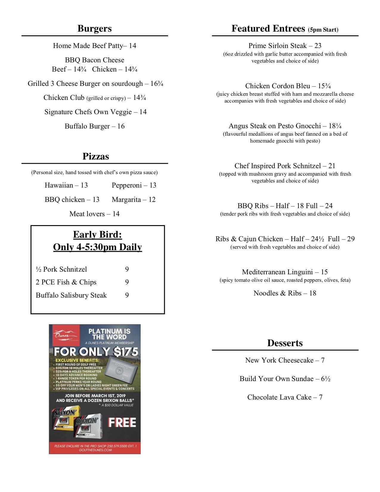 Full Dinner September 2018 page 2